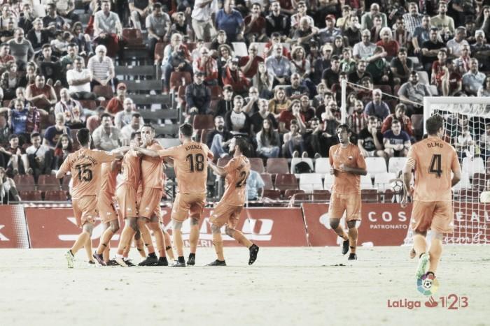 Un CF Reus oportunista se lleva los tres puntos ante una UD Almería impotente