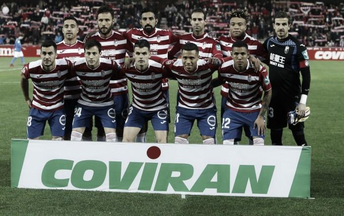 Ojeando al rival del Reus: el Granada CF, con el ascenso entre ceja y ceja