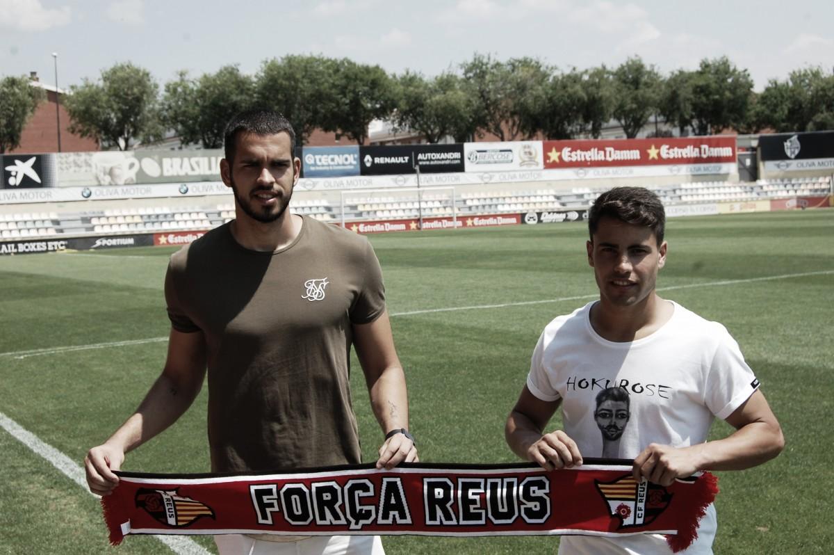 Bastos y Freixanet, presentados como nuevos futbolistas del CF Reus