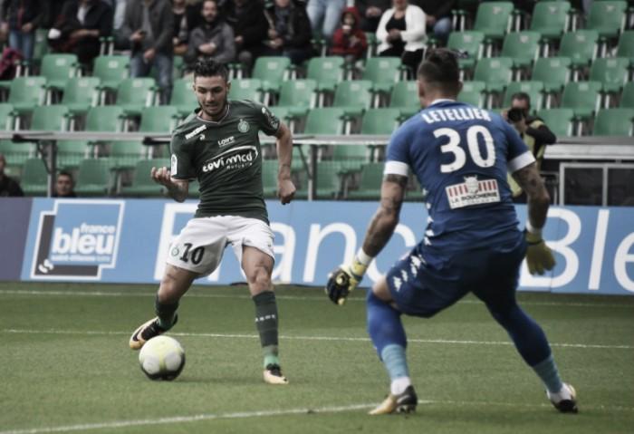 Cabella marca na estreia, mas Saint-Étienne apenas empata com Angers pela Ligue 1