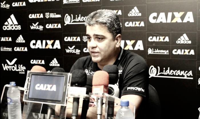 Após nova derrota, Marcelo Cabo pede voto de confiança no Figueirense
