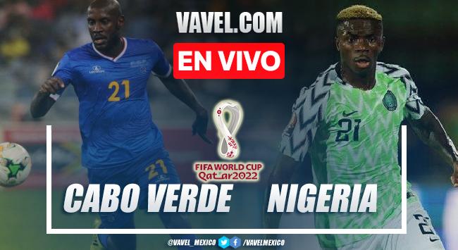 Goles y resumen del Cabo Verde 1-2 Nigeria en Eliminatorias Qatar 2022
