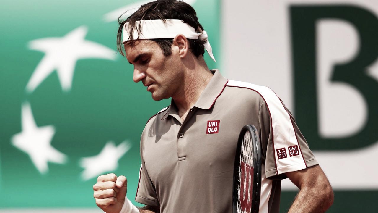 Federer vence Wawrinka e assegura 39º Fedal da história nas semis em Roland Garros
