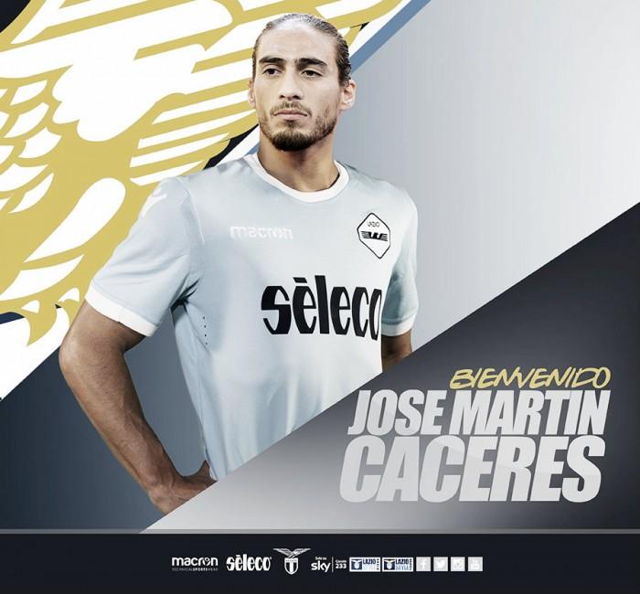 La Lazio se hace con Martín Cáceres