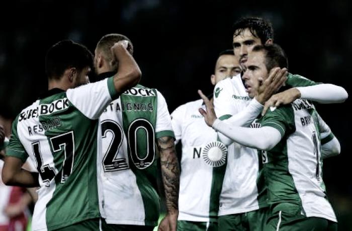 Leões brasileiros sambam rumo ao Jamor: Sporting goleia Praiense