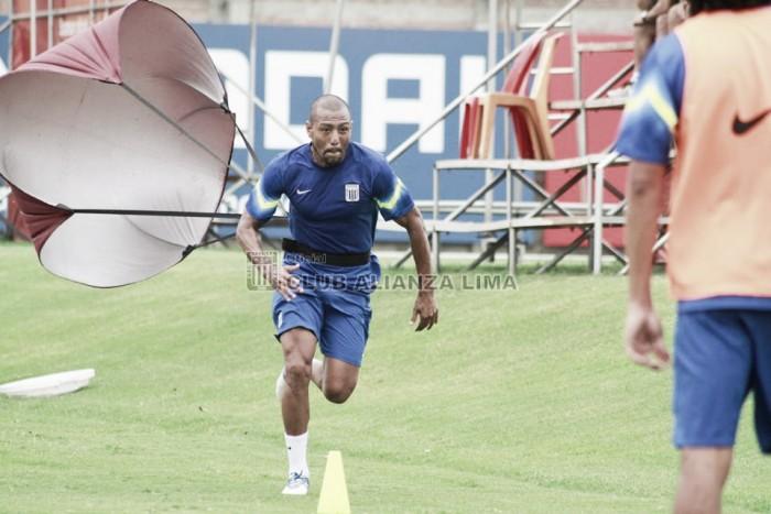 Alianza Lima realizó sus entrenamientos en La Videna