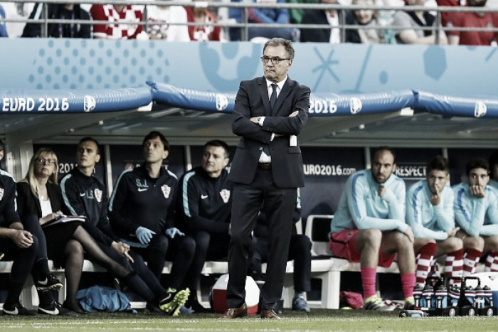 "Cacic ""really sad"" after Croatia's exit"