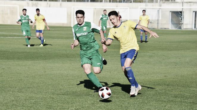 El Cádiz B se lleva los tres puntos ante el Guadalcacín