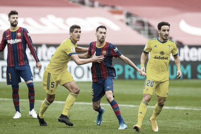 Goals and Highlights Cadiz vs Barcelona (0-0)