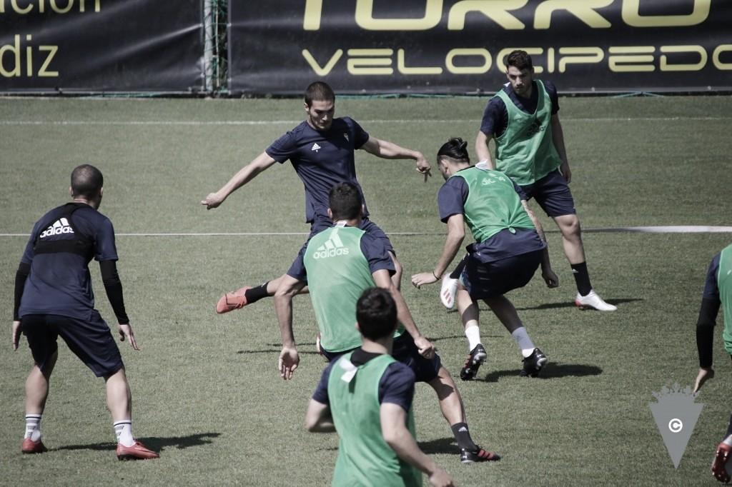 Ninguna novedad en la sesión de entrenamiento del Cádiz CF