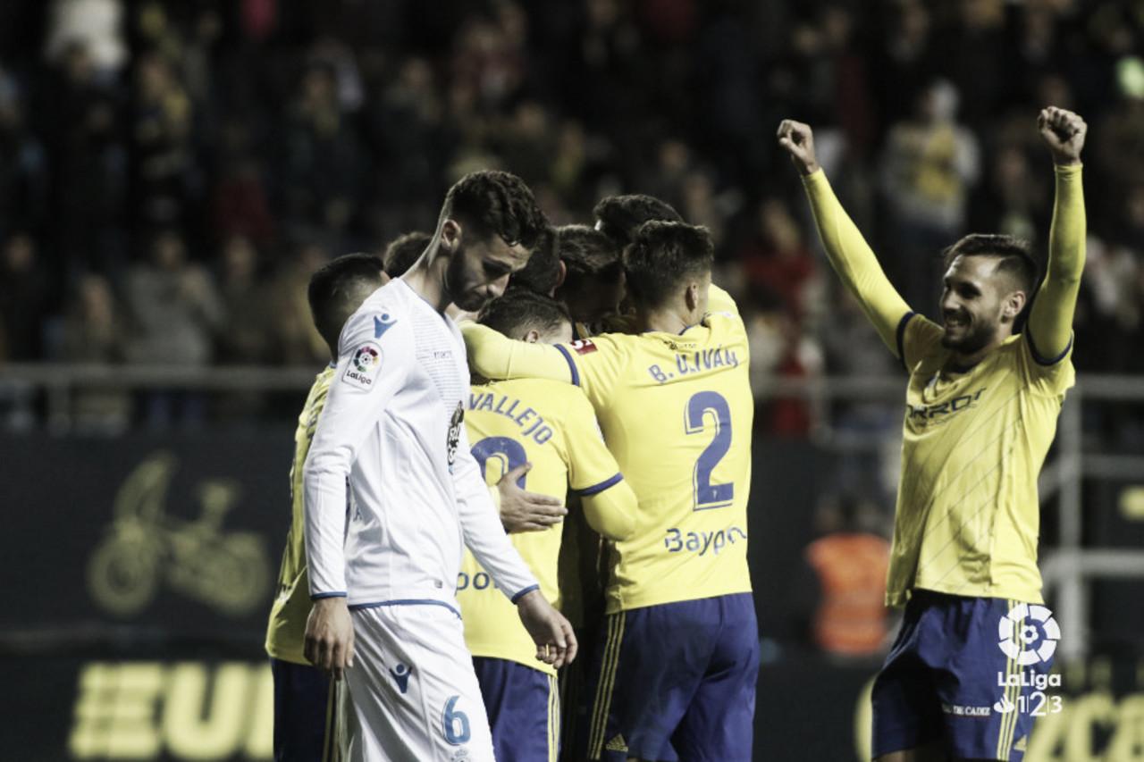 El Cádiz CF vuelve por navidad a la senda de la victoria