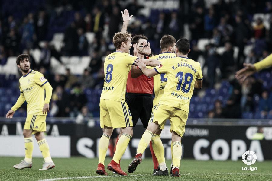 El Cádiz cae de la Copa (1-0) poniéndolo difícil al Espanyol