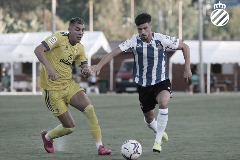 El Espanyol cae derrotado ante el Cádiz en el segundo test de preparación