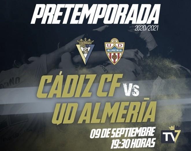 Cádiz CF - UD Almería: última prueba antes de volver a la Élite.