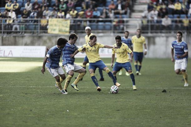 Resultado Lucena - Cádiz en Segunda División B 2015 (2-1)