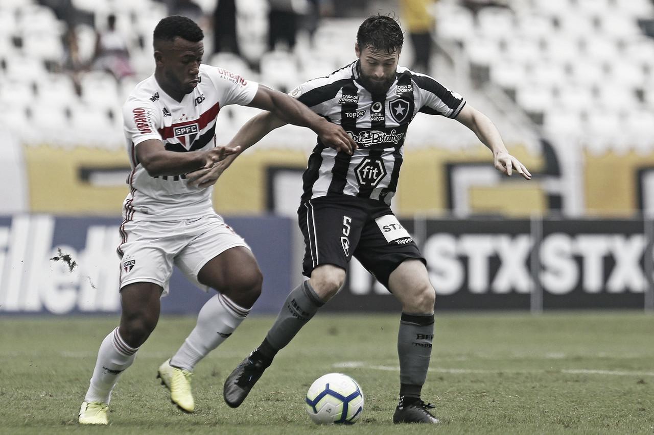 Gols e melhores momentos Botafogo 1x2 São Paulo pelo Campeonato Brasileiro 2019