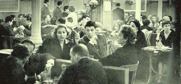 El rostro de las letras - Café Gijón