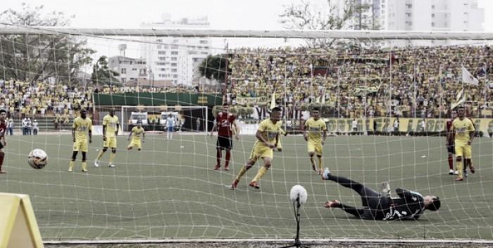 Medellín fue misericordioso y empató ante Bucaramanga