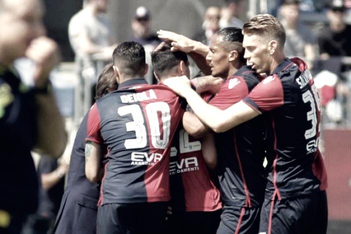 Serie A - L'uragano Cagliari travolge il ChievoVerona al Sant'Elia