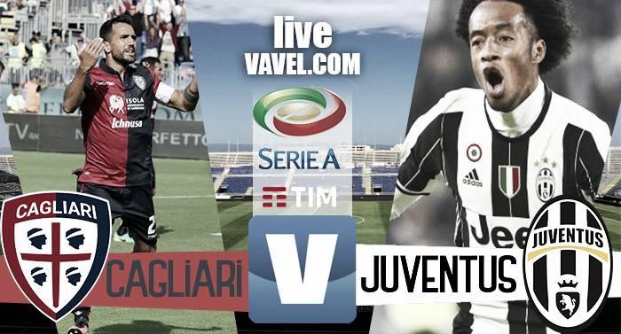Terminata Cagliari - Juventus in Serie A 2016/17 (0-2): Decide la doppietta di Higuain