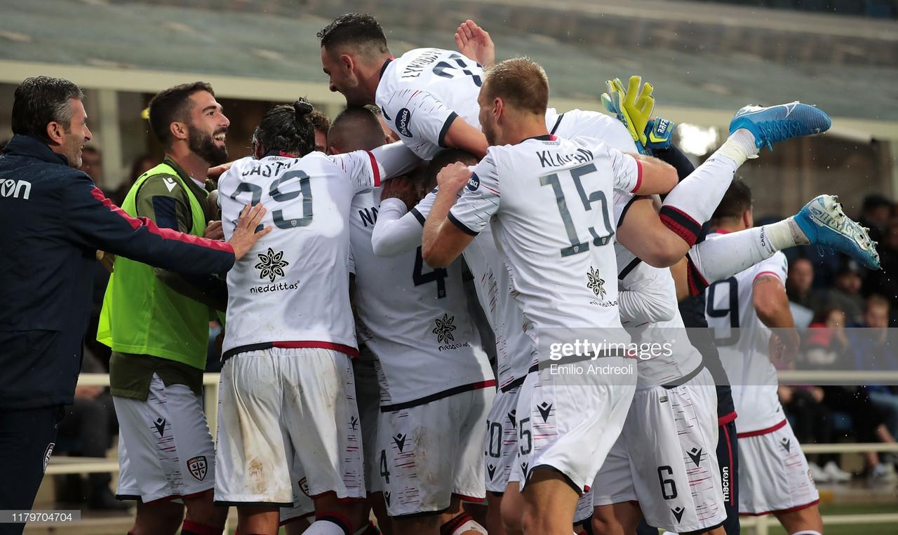 Atalanta 0-2 Cagliari: Superb Islanders dominate Atalanta