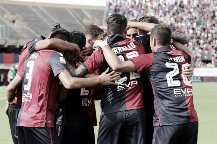 Cagliari - Sampdoria 2-1: Melchiorri decide la sfida del Sant'Elia