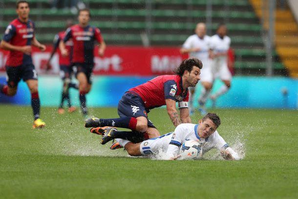 Il Cagliari placa l'Inter: Rolando pareggia solamente il rigore di Pinilla