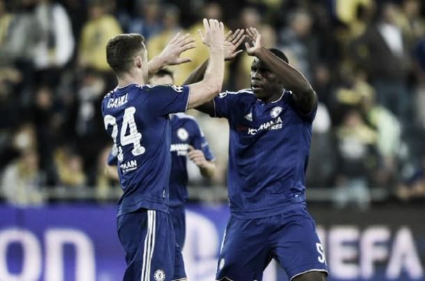 """Cahill exalta vitória sobre Maccabi Tel-Aviv: """"Dominamos do início ao fim"""""""