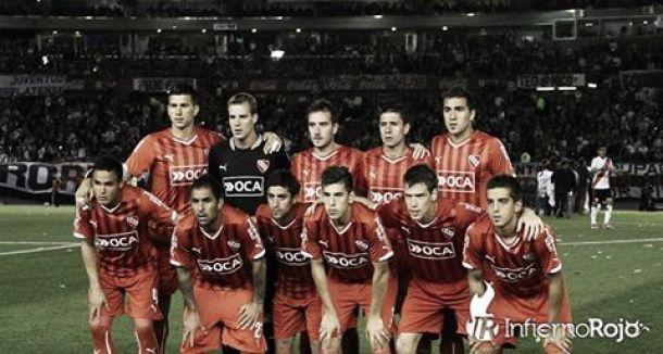 River - Independiente: Puntuaciones rojas