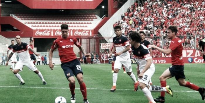 Puntuaciones contra San Lorenzo
