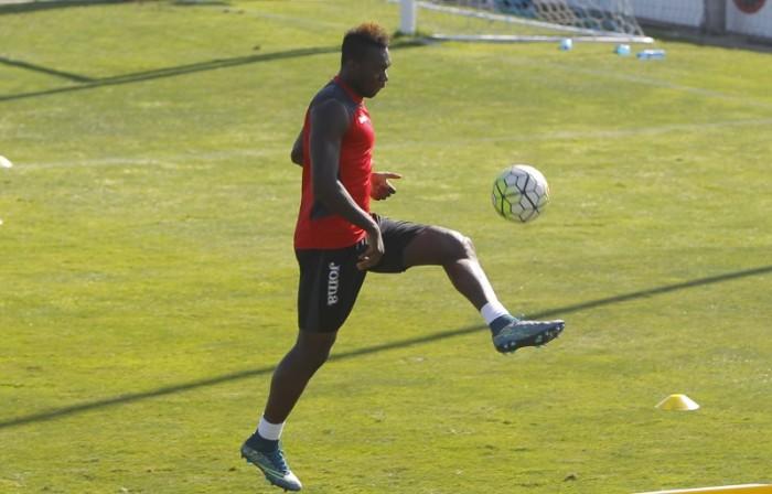 Caicedo, baja contra la Real Sociedad