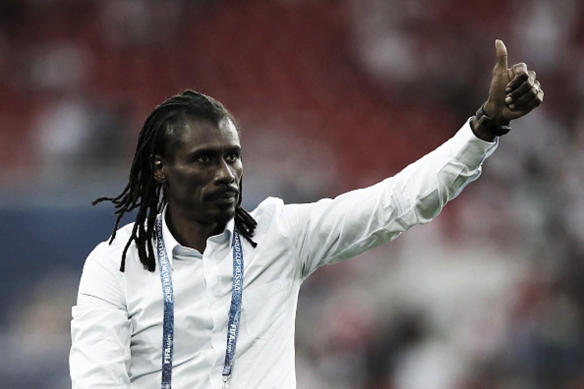 """Aliou Cissé destaca relevância da vitória de Senegal: """"Representamos o continente"""""""