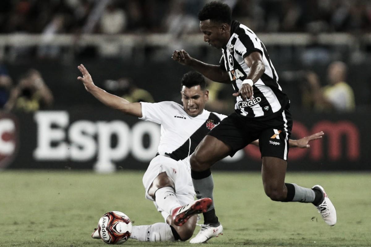 Na parte de baixo da tabela do Brasileiro, Botafogo e Vasco se reencontram após final do Carioca