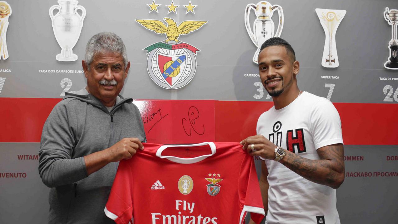 Caio Lucas é reforço do SL Benfica