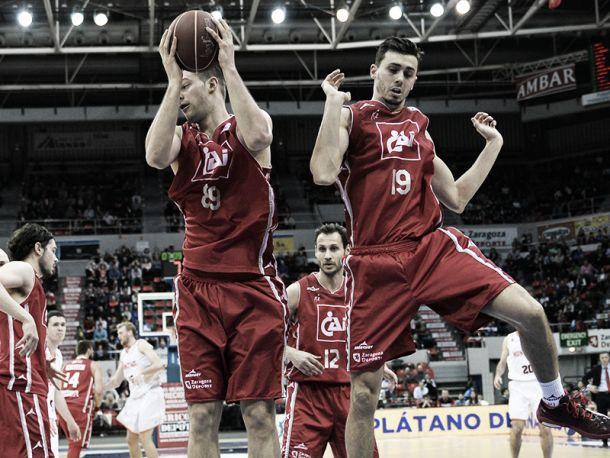 El CAI Zaragoza se crece en casa ante Bilbao Basket