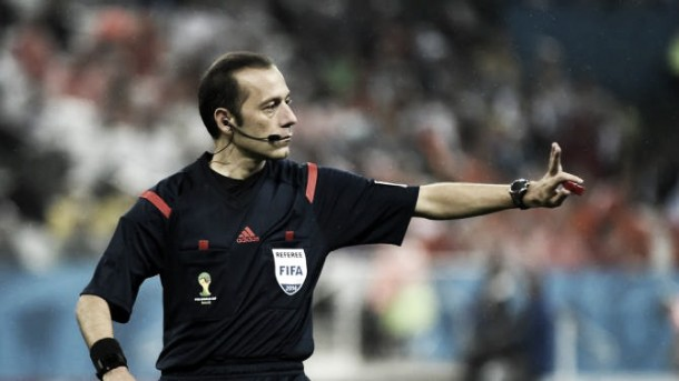 Cüneyt Çakir dirigirá el FC Barcelona - Roma