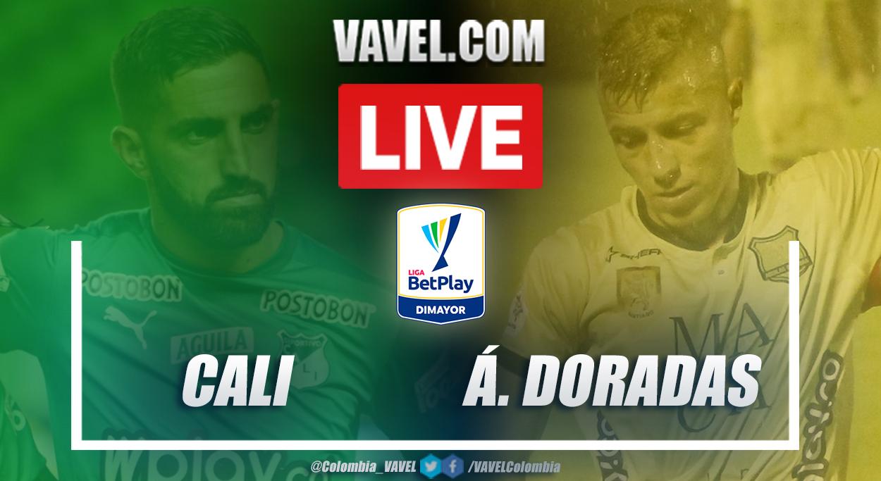 Resumen Deportivo Cali (1-0) Águilas Doradas en la fecha 6 por Liga BetPlay 2021-I