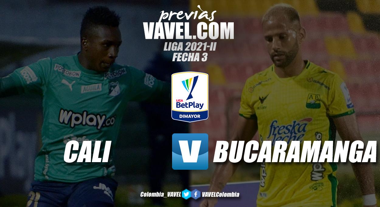Previa Deportivo Cali vs Atlético Bucaramanga: 'verdiblancos' y 'leopardos' lo darán todo en Palmaseca