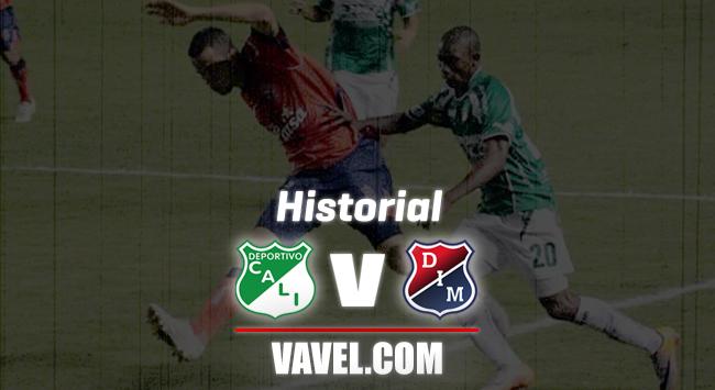 Historial Cali vs. Medellín: ventaja mínima del 'rojo' en la Copa Colombia