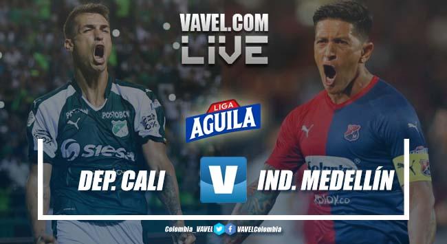 Deportivo Cali vs Independiente Medellín en vivo online por la Liga Aguila 2019-II