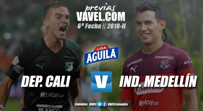 Previa Deportivo Cali vs Independiente Medellín: dos equipos que buscan la victoria y el liderato