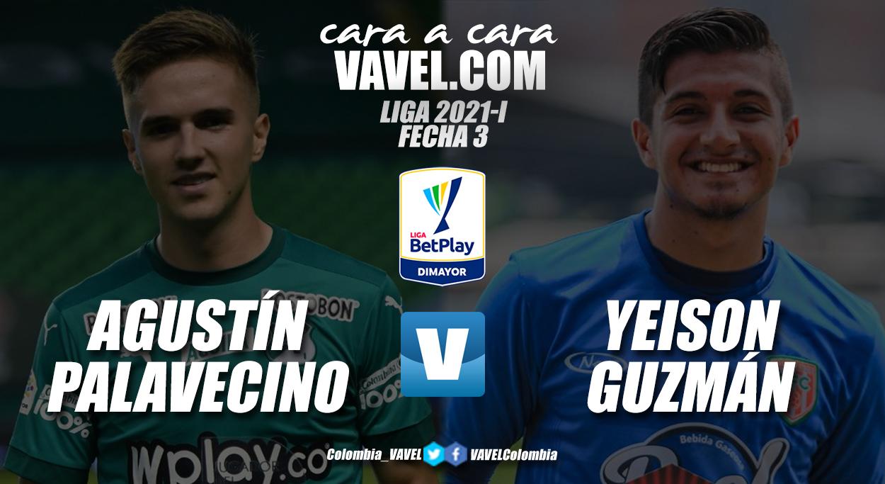 Cara a cara: Agustín Palavecino vs Yeison Guzmán