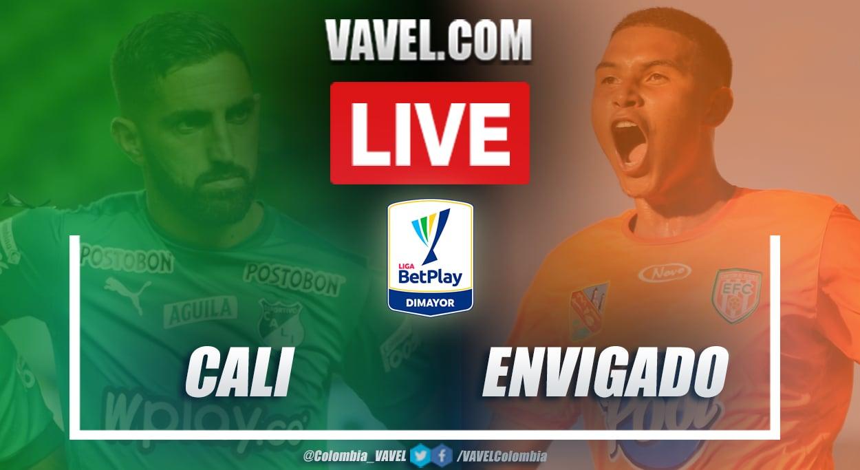 Resumen y goles: Deportivo Cali (1-1) Envigado por la fecha 3 de la Liga BetPlay 2021-I