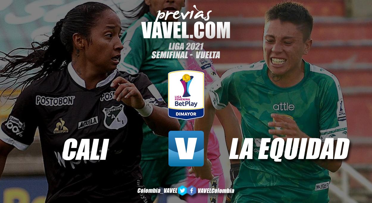 Previa Deportivo Cali vs La Equidad: definición del primer cupo a la final del fútbol femenino