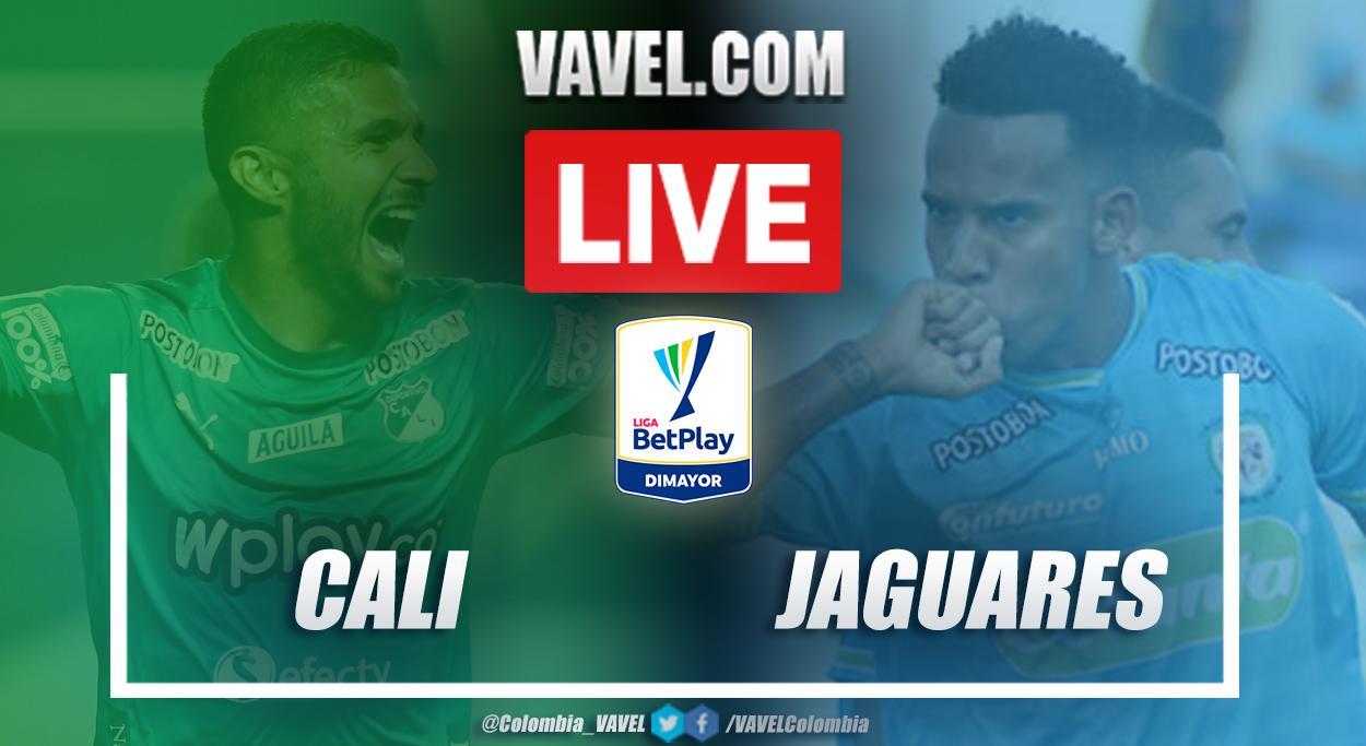 Resumen y goles: Deportivo Cali (1-0) Jaguares en la jornada 1 de la Liga BetPlay 2021-I