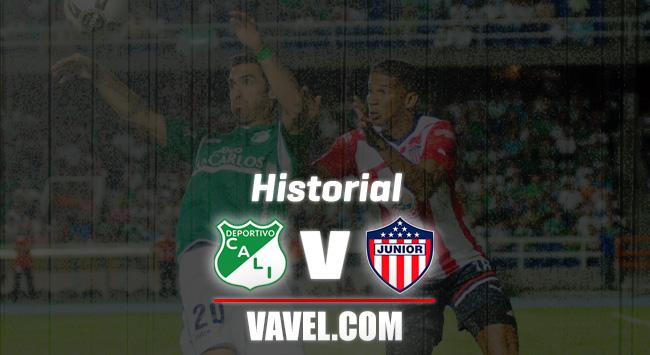Historial: Deportivo Cali vs Junior de Barranquilla