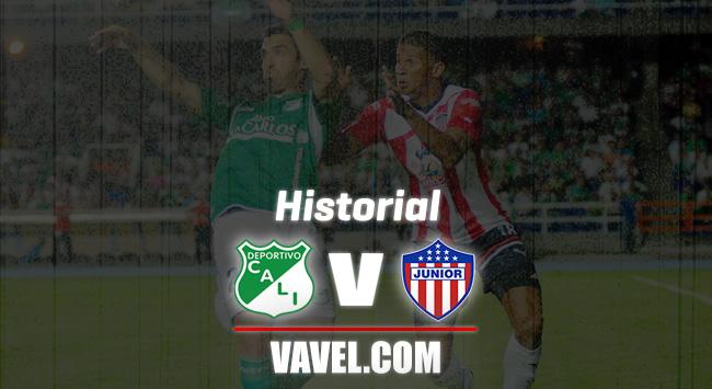 Historial Junior de Barranquilla vs. Deportivo Cali