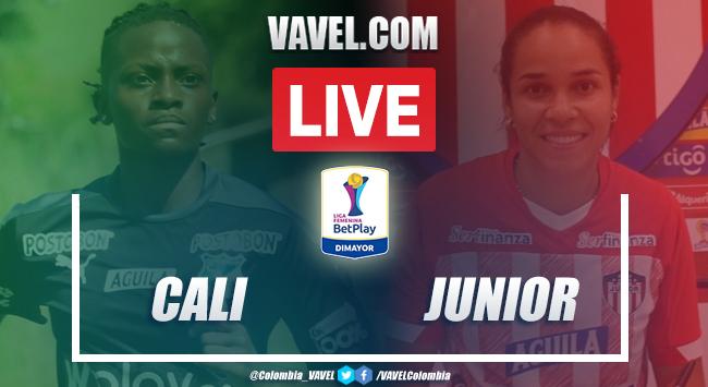 Resumen: Deportivo Cali vs Junior de Barranquilla (0-1) por Liga BetPlay Femenina 2020