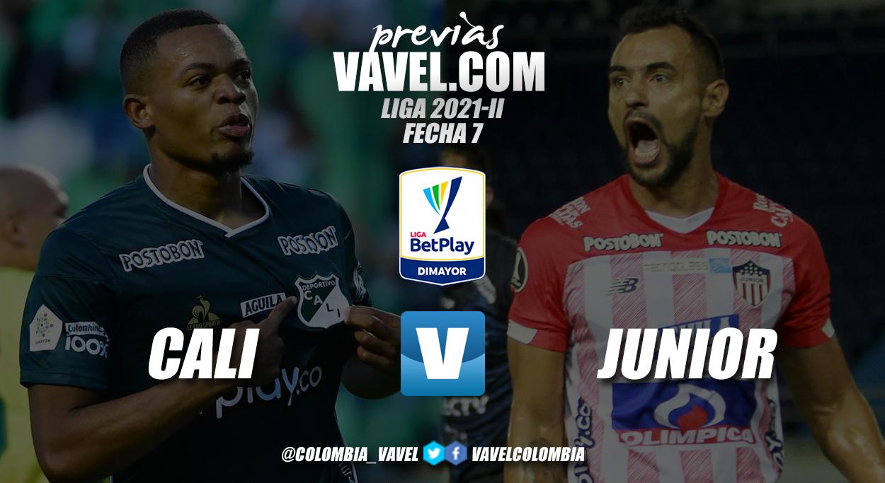 Previa Deportivo Cali vs Junior de Barranquilla: duelo de ex en Palmaseca