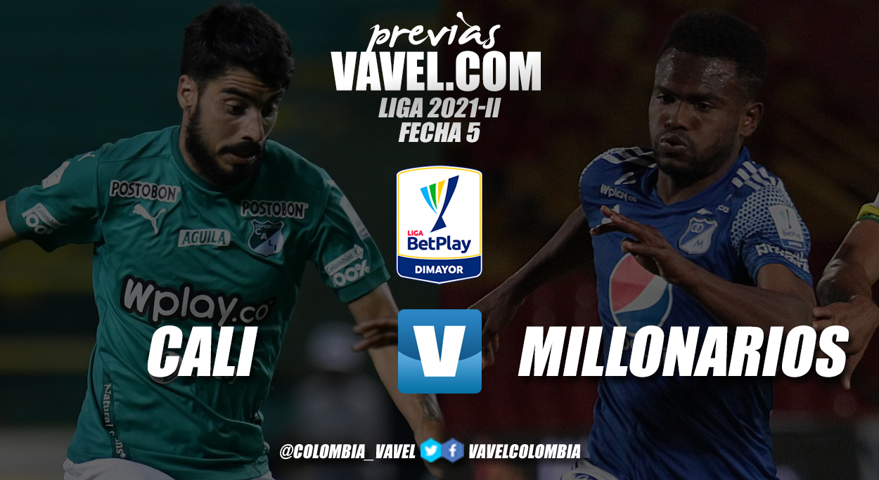 Previa Deportivo Cali vs. Millonarios: duelo de goleadores en Palmaseca